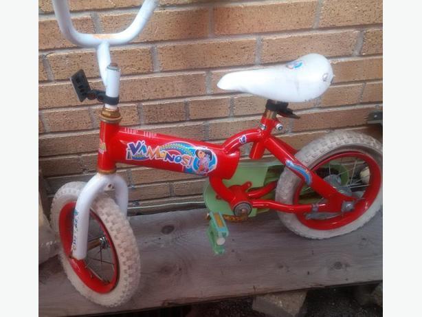 little girls bikes - as is