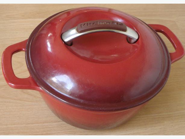 KitchenAid cast iron dutch oven