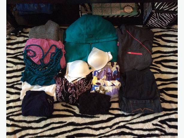 Size large clothing lot