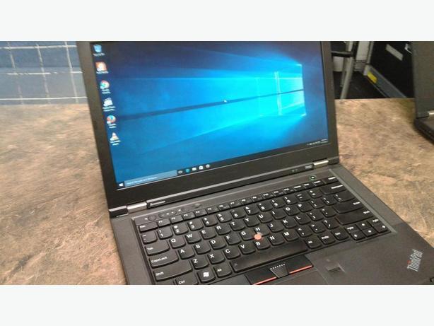 Lenovo T430 14.1 laptop i7 2.9ghz 240G SSD 8G RAM Win 10 Pro