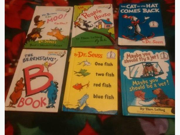 dr.seusse books and more