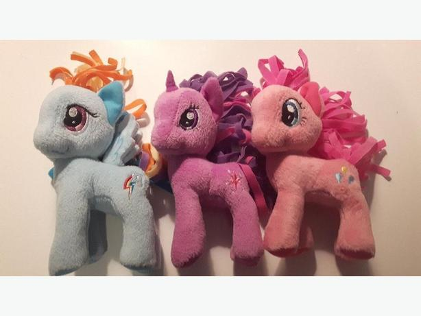 My Little Pony plushies