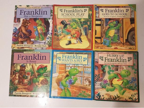 6 Franklin books
