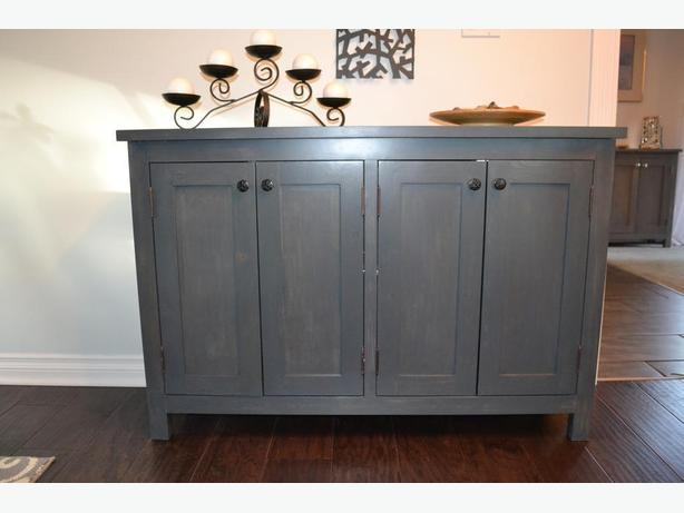 Charcoal Shaker-Style Wall Unit