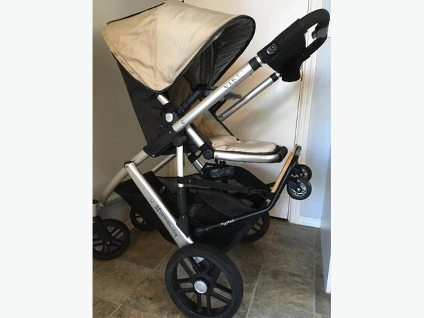 UPPAbaby Vista stroller, bassinet and accessories