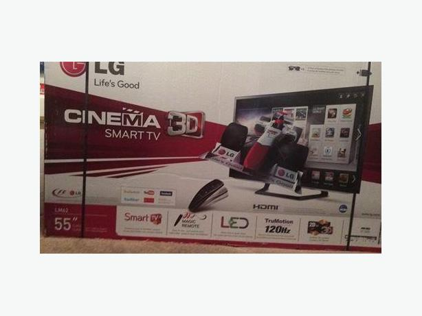55'' LG 3D SMART TV/BLU- RAY PLAYER