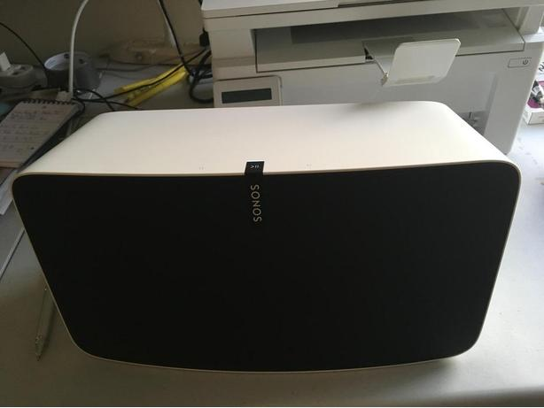 Sonos PLAY:5 Wireless Speaker - White for Sale