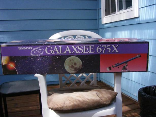 tasco Galaxsee 675 x telescope