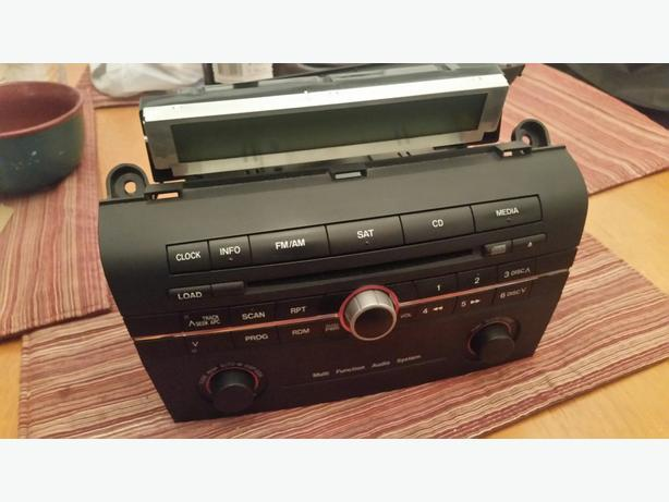 2008 Mazda 3 OEM CD player w/ LCD display