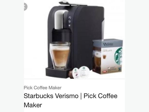 starbucks verismo coffee maker pod machine