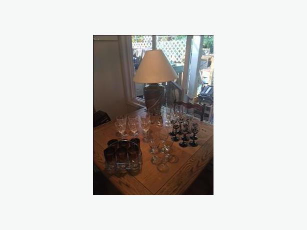 Glasses - table lamp