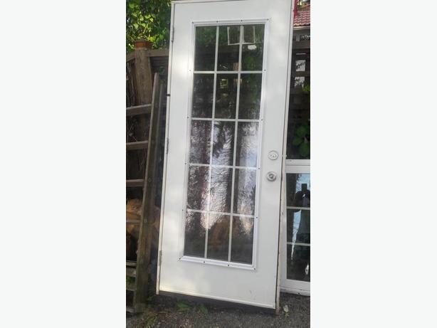 FULL GLASS EXTERIOR DOOR