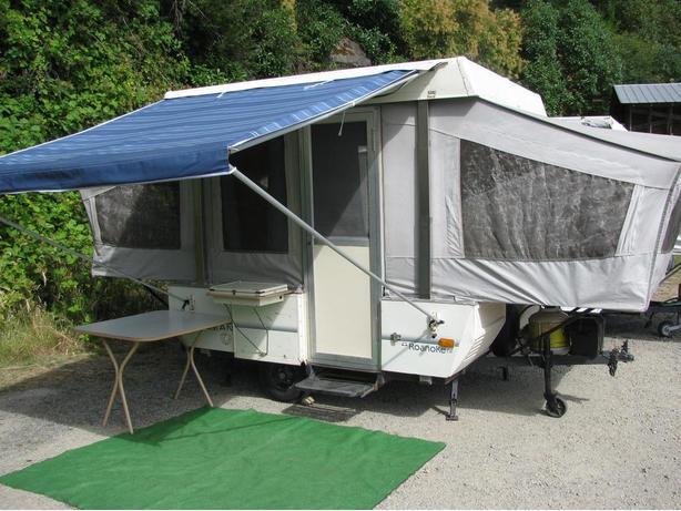 1991 Coleman Tent Trailer