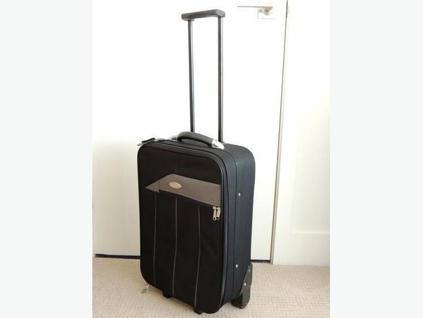 Black Suitcase on Wheels 'Westcoast Luggage Co.'