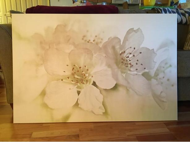 Ikea Ready To Hang Large Framed Decorative Picture