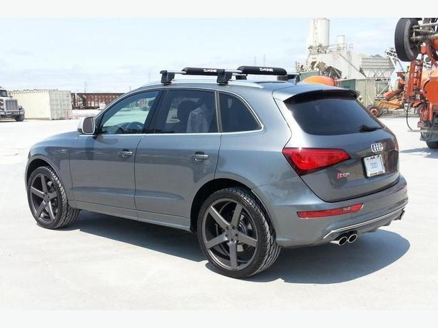 AUDI Q5 FACTORY CROSSBAR ROOF RACK