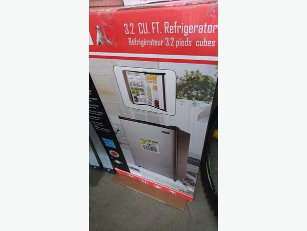 3.2 Cu.Ft. Stainless Steel Refrigerator