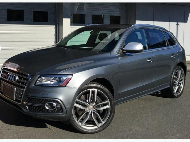 AUDI SQ5 21-INCH WHEELS & TIRES