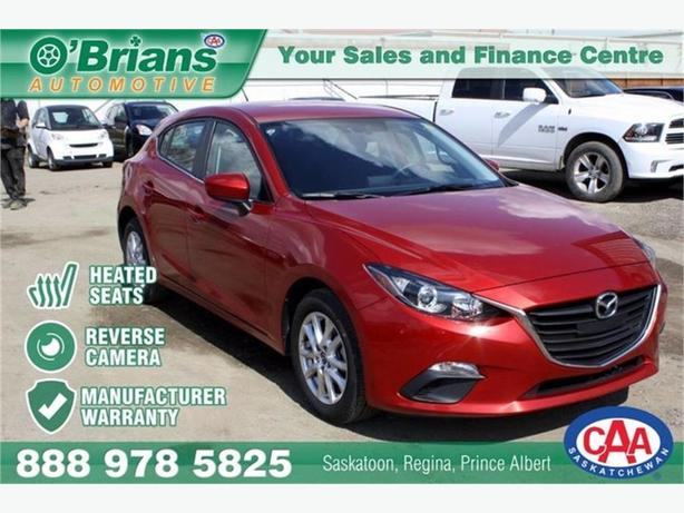 2016 Mazda Mazda3 GS w/Mfg warranty
