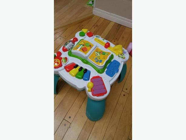 Like new Leap frog bilingual activity table
