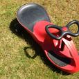 Wiggle Ride-On Car Red