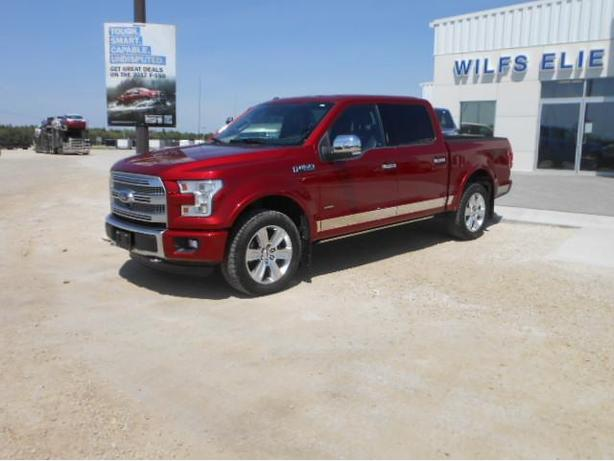 2016 Ford F-150 Platinum SuperCrew 7X164A