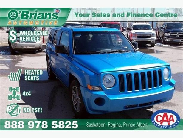 2008 Jeep Patriot Sport - Wholesale Unit, No PST!