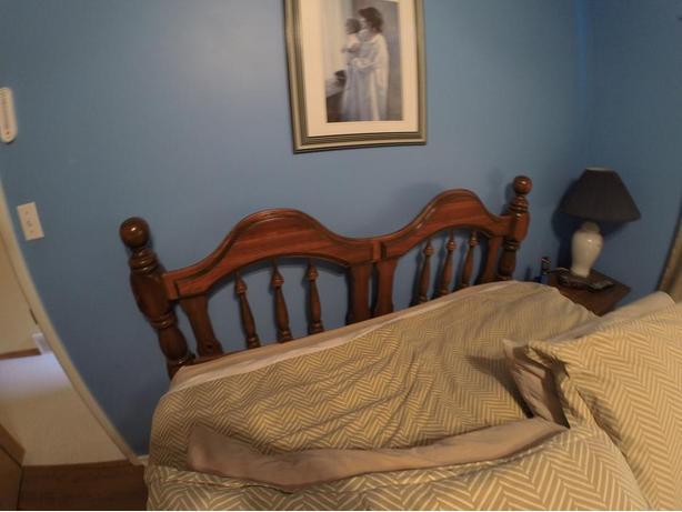 Antique Solid Pine Bedroom Set
