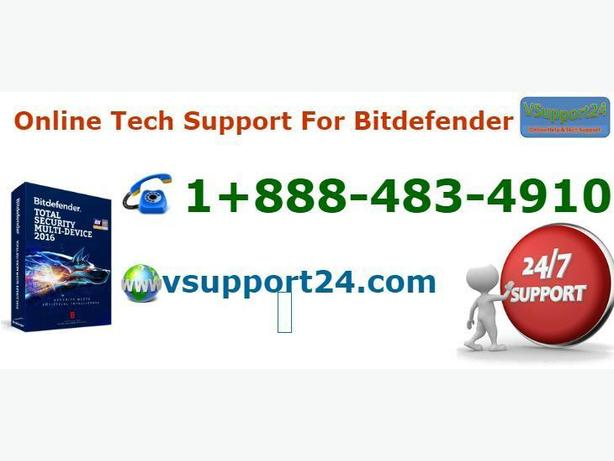Contact 1-888-483-4910 for Bitdefender Tech Support Services
