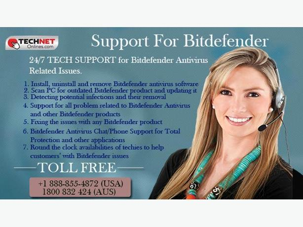 Reach us @ +1-888-855-4872  for Bitdefender Tech Support Services