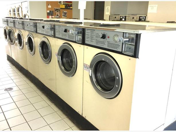 Commercial Coin Op Laundromat Washers and dryers for sale
