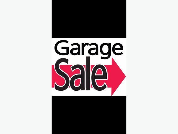 garage sale - st. james area