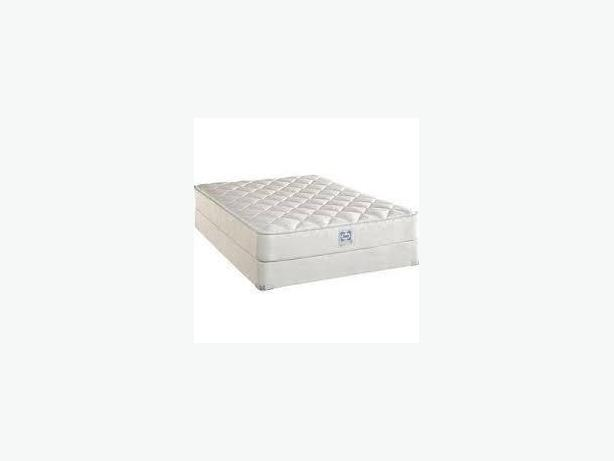 SERTA QUEEN SIZE MATTRESS & BOX SPRING