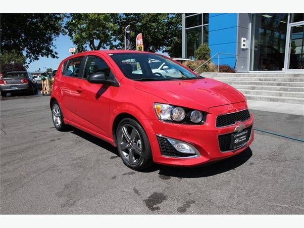 2013 Chevrolet Sonic RS One owner