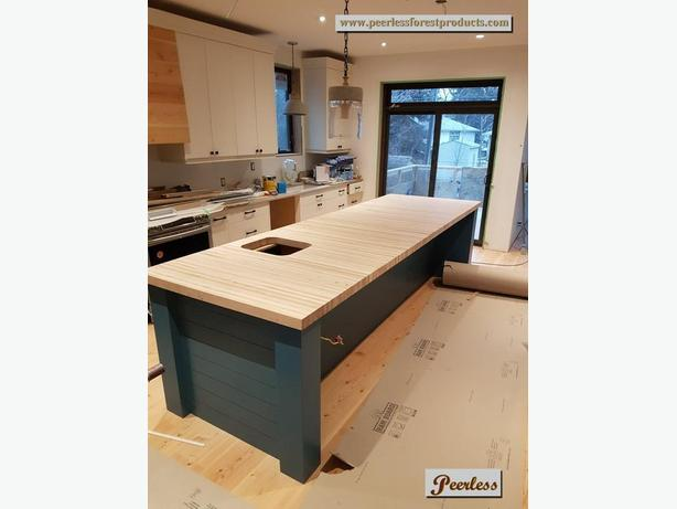 LOCAL Maple Materials for Butcher Block Counters- Whistler, BC