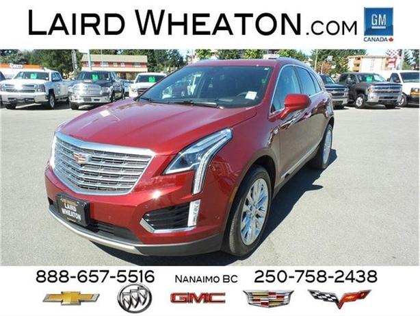 2017 Cadillac XT5 AWD Platinum w/ Back-Up Camera and WiFi Hotspot