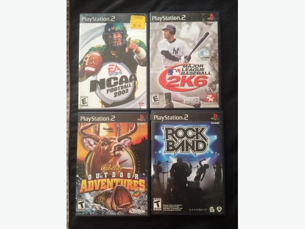 3for$5 PS2 Games