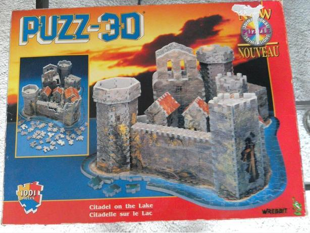 OBO 3D Citadel on the lake puzzle