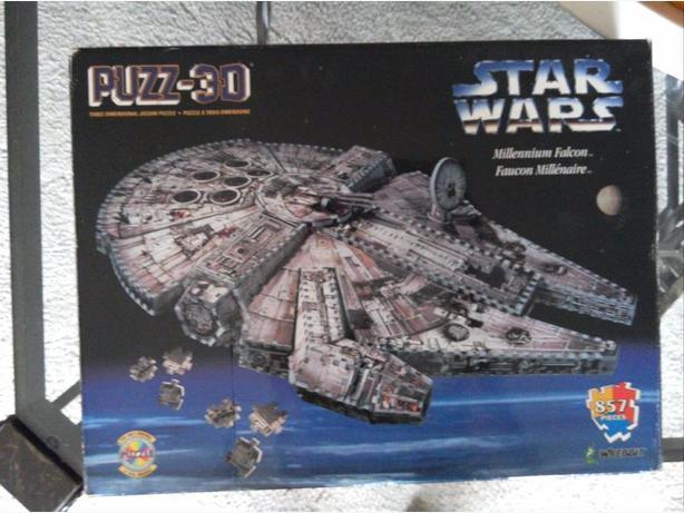 OBO Rare Millennium Falcon 3D Puzzle