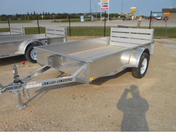 2016 Alcom 66X10 Aluminum Utility Trailer HH4075
