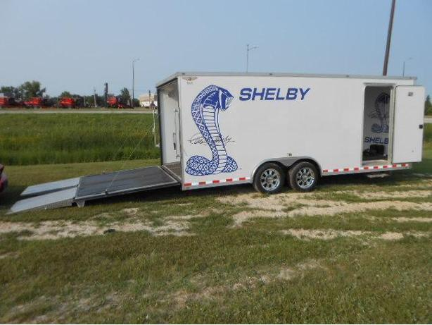 2008 H&H 101X20 Shelby Enclosed CarHauler *NO GST*