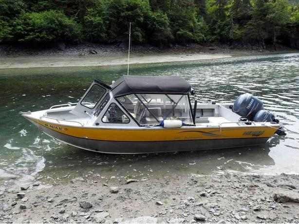 Hewescraft 22 Sport Fishing Charter Boat For Sale - 2005