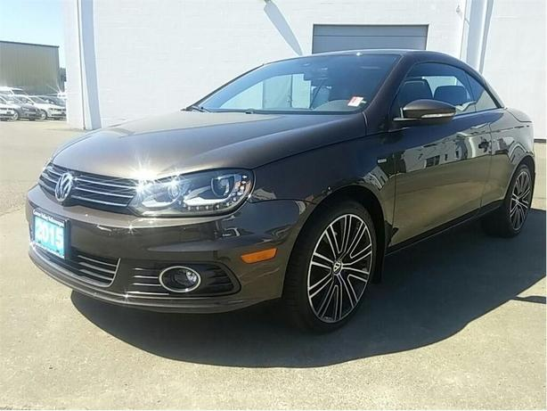 2015 Volkswagen Eos Wolfsburg Edition Low kms! HARD TOP CONVERTIBLE !