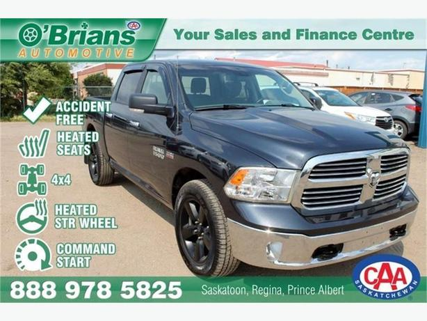 2016 Ram 1500 SLT - Accident Free! w/Command Start