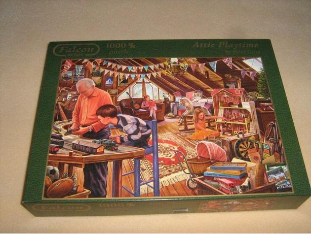 FALCON DELUXE 1000 PIECES JIGSAW PUZZLE Gloucester, Ottawa