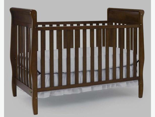 Baby solid wood Crib
