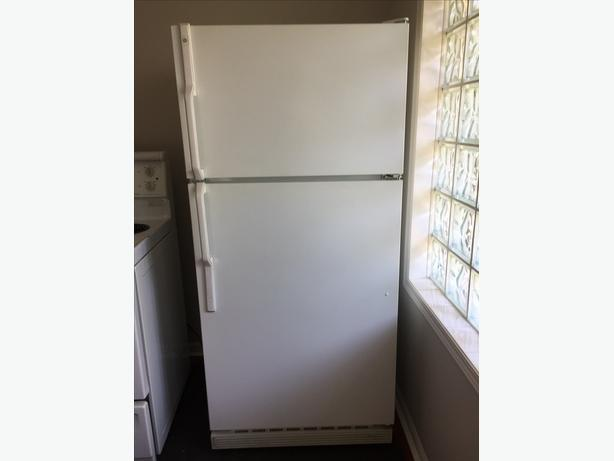 FREE: GE FRIDGE - WHITE