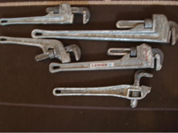 PIPE WRENCHES  -all aluminum