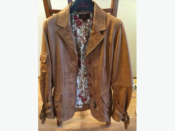 """2 for 1"" Genuine Leather Jackets - Petite Size - Awesome Deal!"