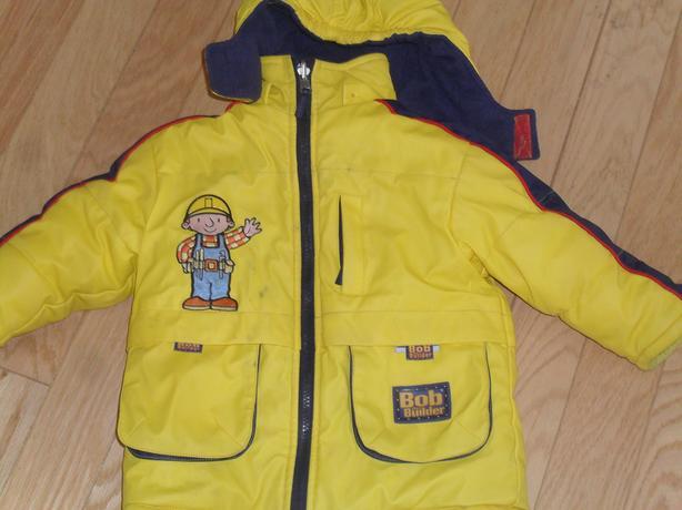 Bob The  Builder Reversible Winter Jacket